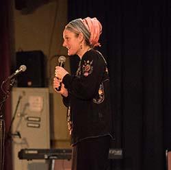 Miriam Leah Gamliel (ML), ATARA's founder, director, and producer.