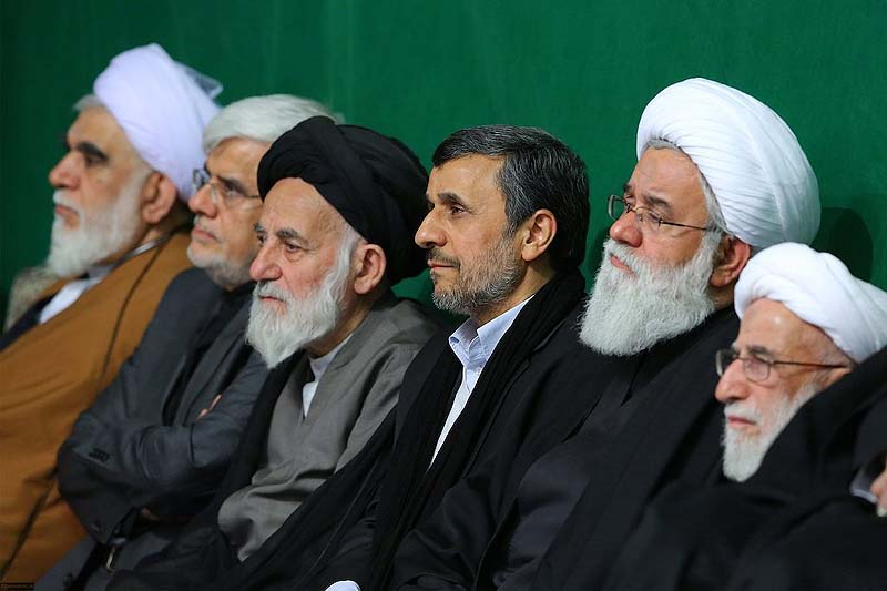 Reports state that Ex-Iranian President Ahmadinejad has been arrested