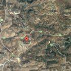 Map showing Deir Abu Mash'al and Halamish/Neve Tzuf
