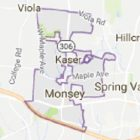 Map of Monsey