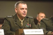 US Marine Corps Gen. James E. Cartwright, vice chairman of the Joint Chiefs of Staff