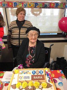 Sara Markowitz at 102