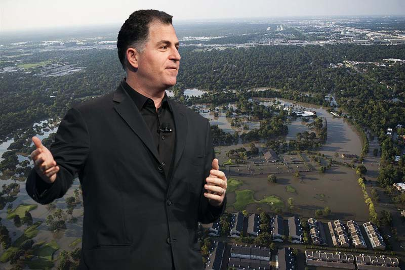 Michael Dell donating $36M for Harvey relief