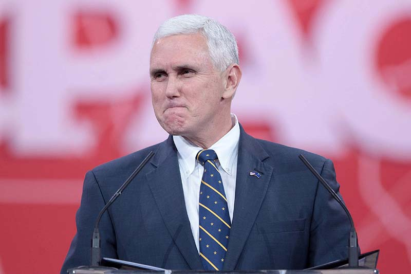 Pence delays trip to Egypt, Israel because of USA tax vote