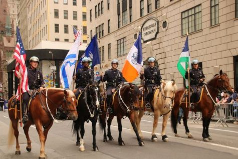 As always, the mounted police of New York's Finest graced the 2017 Celebrate Israel Parade
