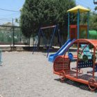 A playground in the community of Neria.
