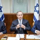 PM Netanyahu at a Cabinet Meeting. Feb. 13, 2017