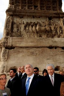netanyahu-at-the-arch-of-titus