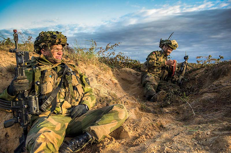 A First Idf Participating In Nato Eastern European Exercises The
