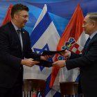 Croatian Prime Minister Andrej Plenkovic, Israeli Prime Minister Benjamin Netanyahu in Jerusalem