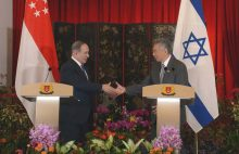 PM Netanyahu and Singapore PM Lee Hsien Loong, Feb. 20, 2017