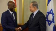 Togolese Foreign Minister Robert Dussey meets in Jerusalem with Israeli Prime Minister Benjamin Netanyahu