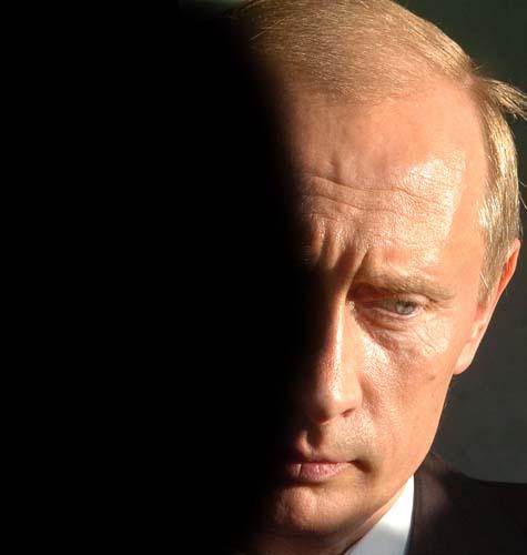Portrait of Vladimir Vladimirovich Putin, whose ambassador to Turkey, Andrei Karlov, was assassinated on Dec. 19, 2016.