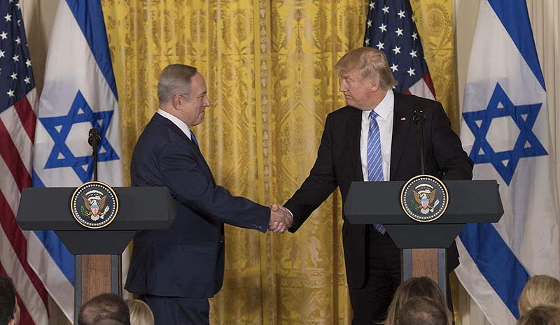 Trump Peace Deal Divides Jerusalem, Palestinians Get Almost All of Judea, Samaria