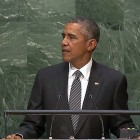 President Obama speaks at the UN