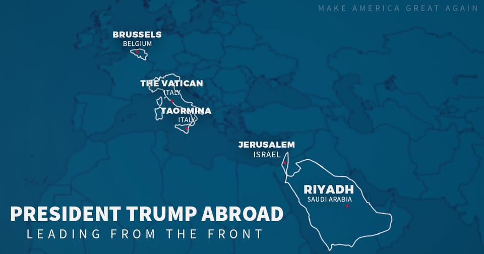 Trump Admin Regrets Erasing Israeli Territory From US Maps
