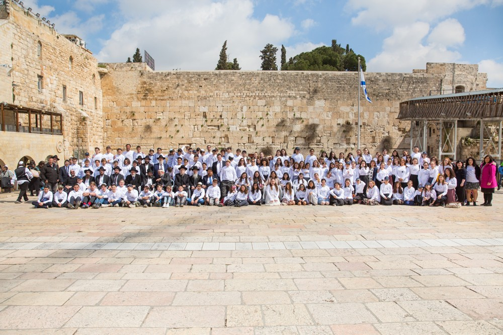 Festive Bar Mitzvah Ceremony for Secular European Children Held at