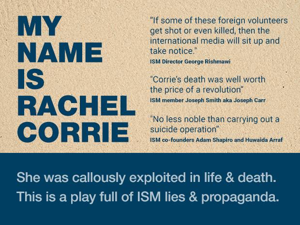Rachel Corrie Meme 1