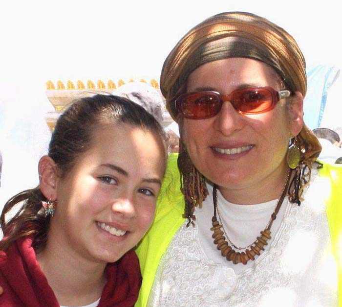 Rina Ariel and her daughter Hallel z'l / courtesy of the family