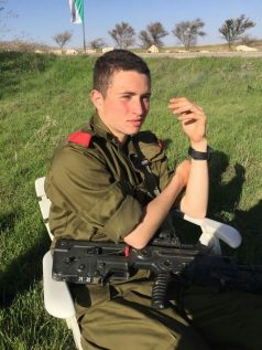 "Ron Yitzchak Kukia, HY""D. Murdered by terrorists on Nov. 30, 2017"