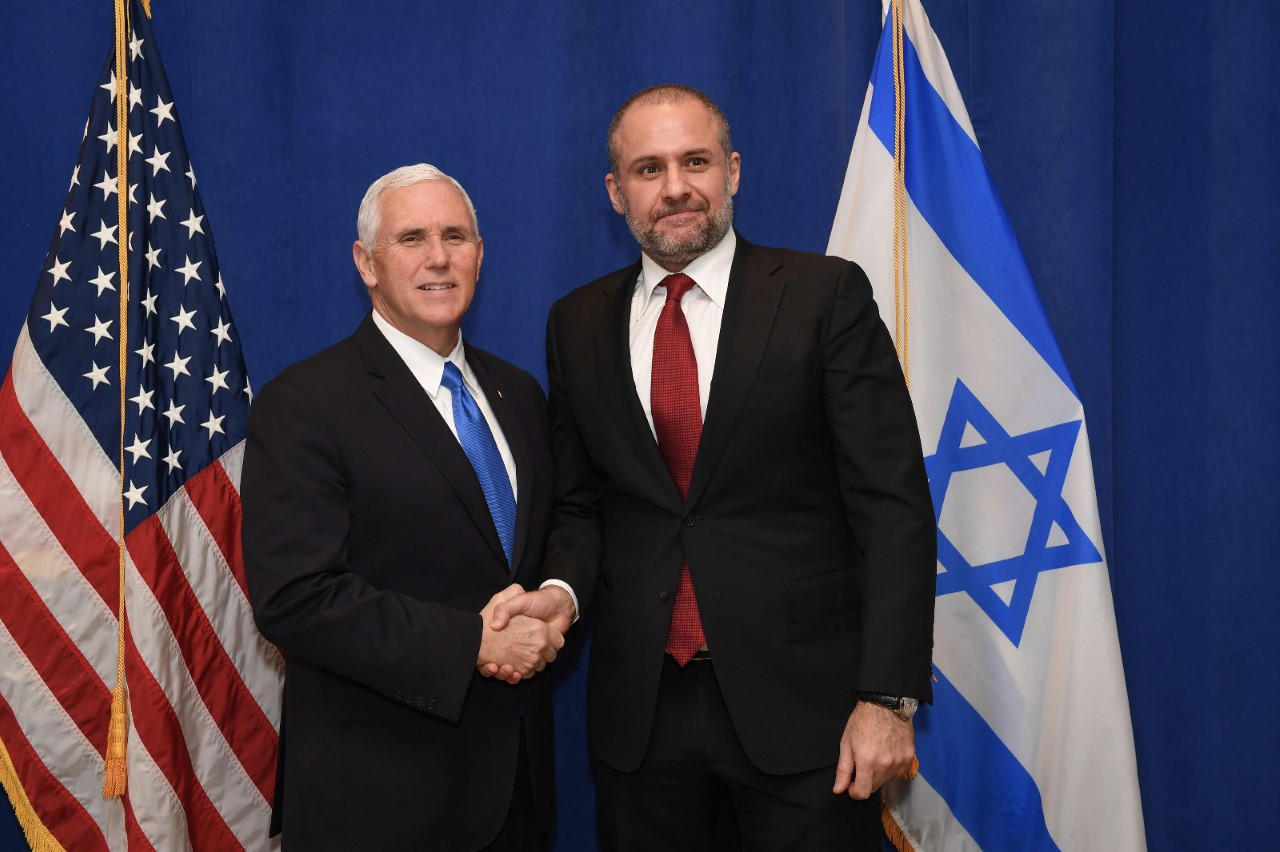 Torossian and VP Mike Pence