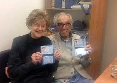 Nelda and Victor Rousso: 'Our 3,300 year detour ends!'
