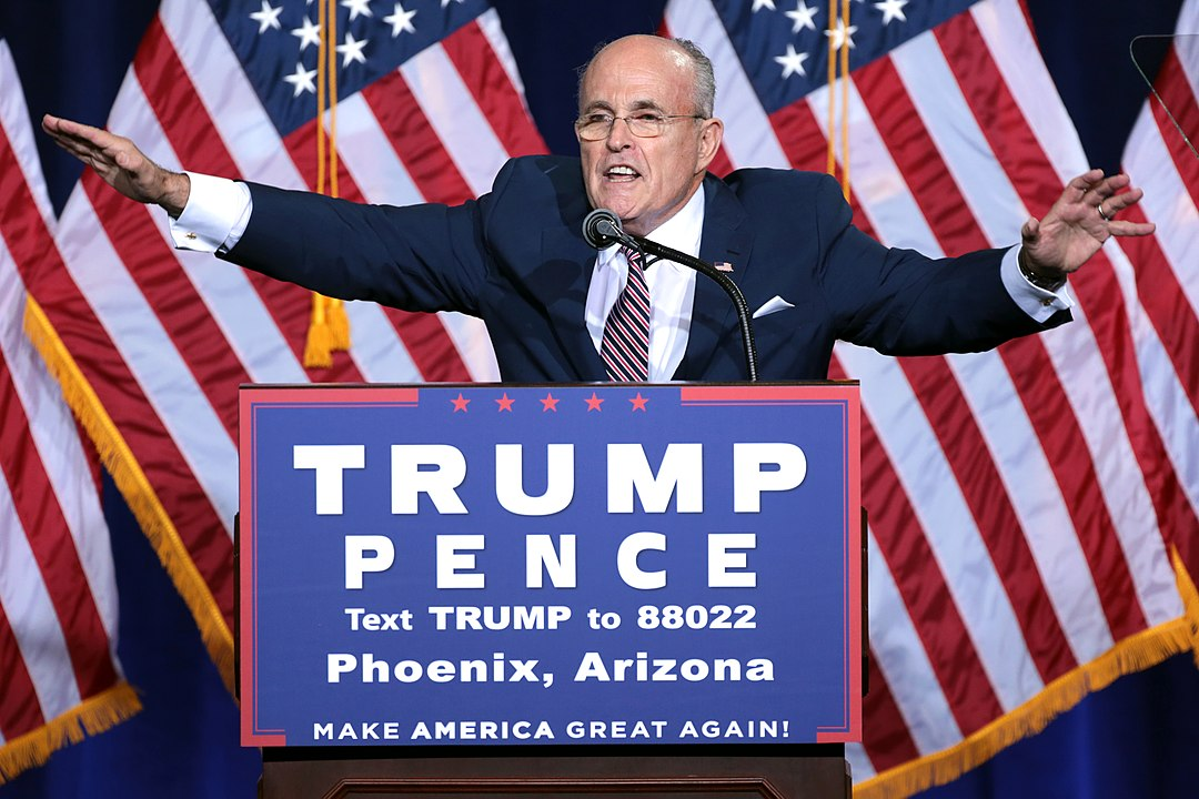 Bar association seeks Giuliani ban over 'combat' remarks