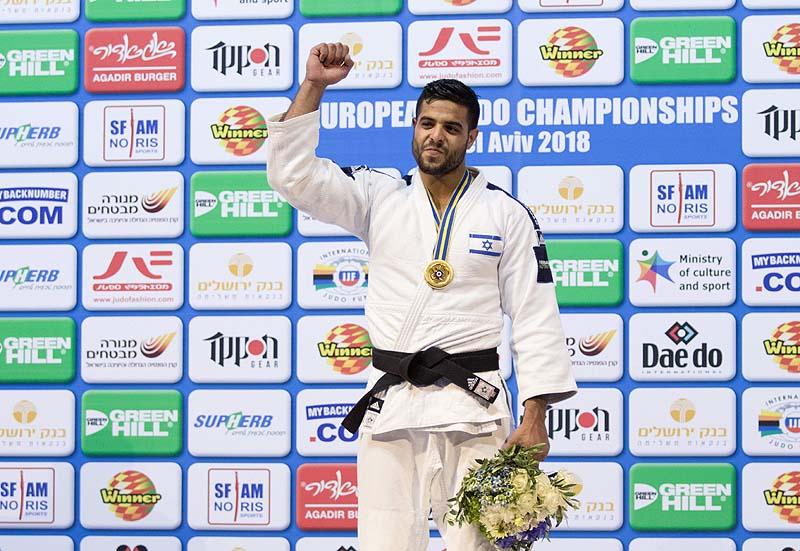 Israeli Judoka Sagi Muki Crowned World Champion in Tokyo