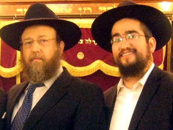R' Brikman and R' Marozov