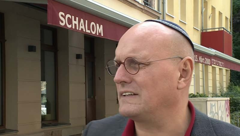 Jewish restaurant attacked in Germany