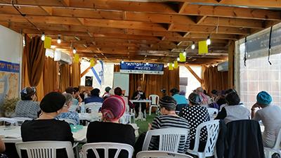 Rav Chaim Dinovitz teaching Sefer Shmuel