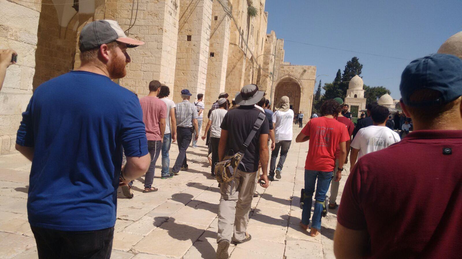 Short tour on Temple Mount