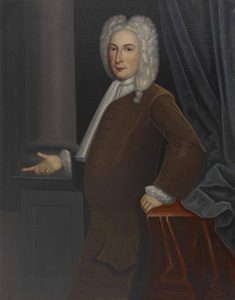 Gerardus Duyckinck I (1695-1746) Portrait of Jacob Franks (1688-1769). Oil on canvas.
