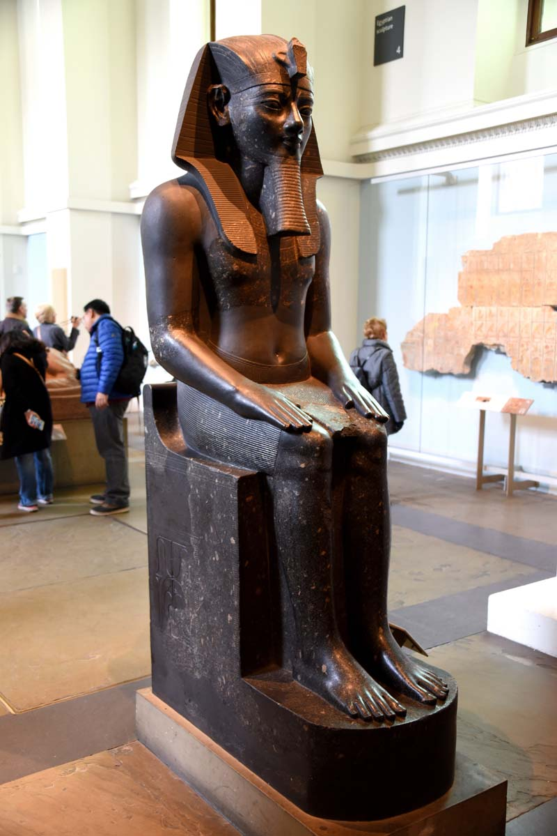 Statue of Egyptian Pharaoh, Thutmose III from the British Museum / Photo credit: copyright-free Google Image