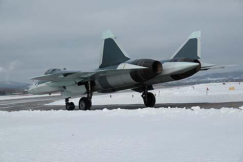 The Sukhoi T-50-8