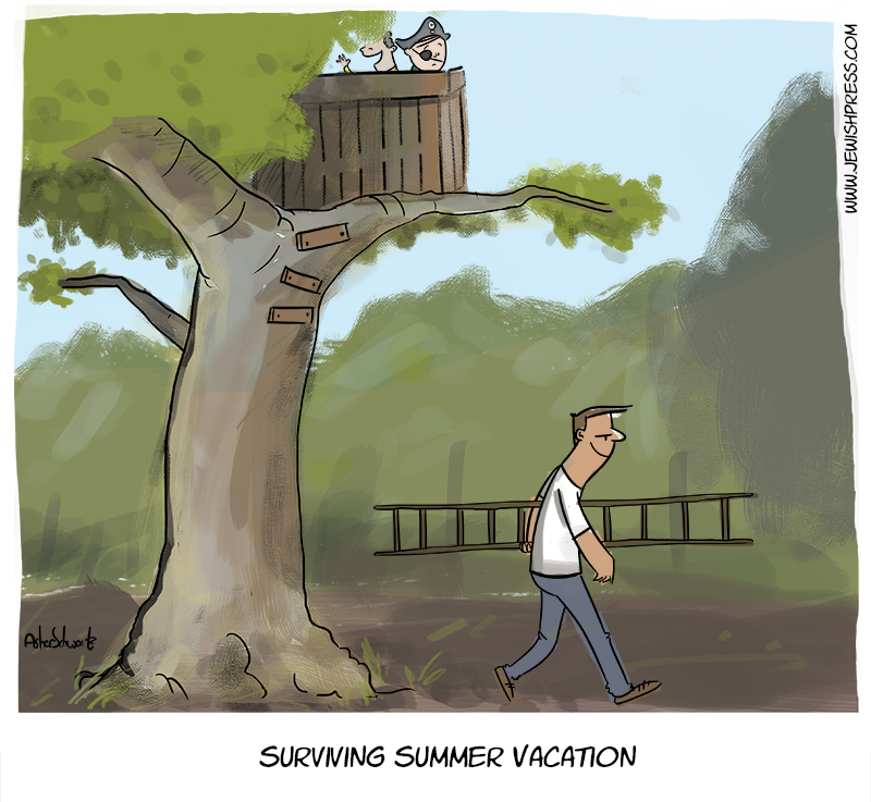 Surviving summer vacation 3 treehouse