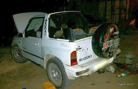 Suzuki mini-truck stopped by Border Guard Police