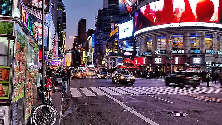 PTSD in NYC: Times Square Chaos Erupts as Motorcycle