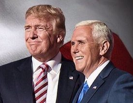 "US President-elect Donald J. Trump and Vice President-elect Mike Pence on their ""Thank You Tour"" across America 2016"