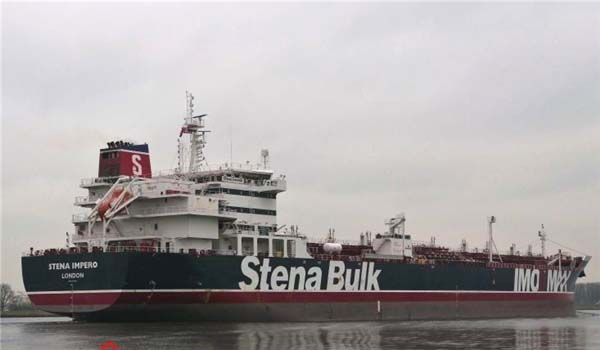 Iran says seized British-flagged tanker `free` to leave