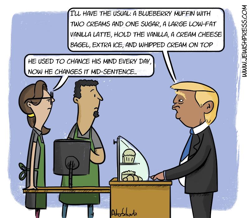 Trump Changes Mind