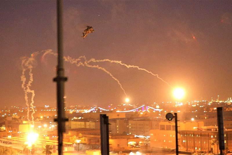 3 rockets fired toward USA embassy in Iraq