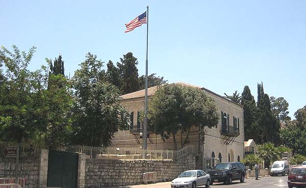 US Consulate in Jerusalem