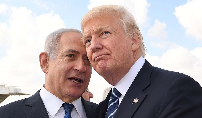 Trump said to ask Netanyahu whether he genuinely wants peace with Palestinians
