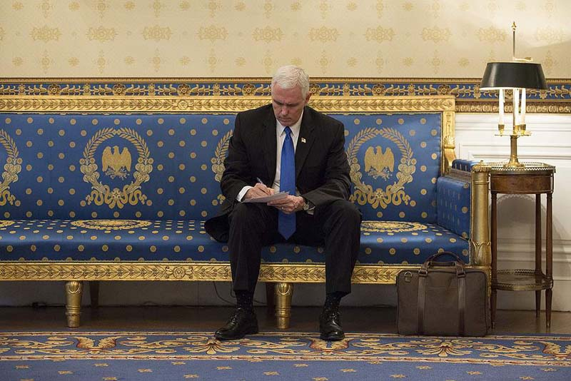 Vice President Pence to delay trip to Mideast over tax bill