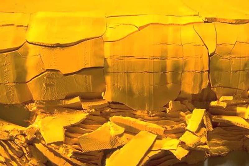 Yellowcake / Photo credit: free image from Vimeo.com