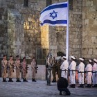 Memorial Day at Kotel