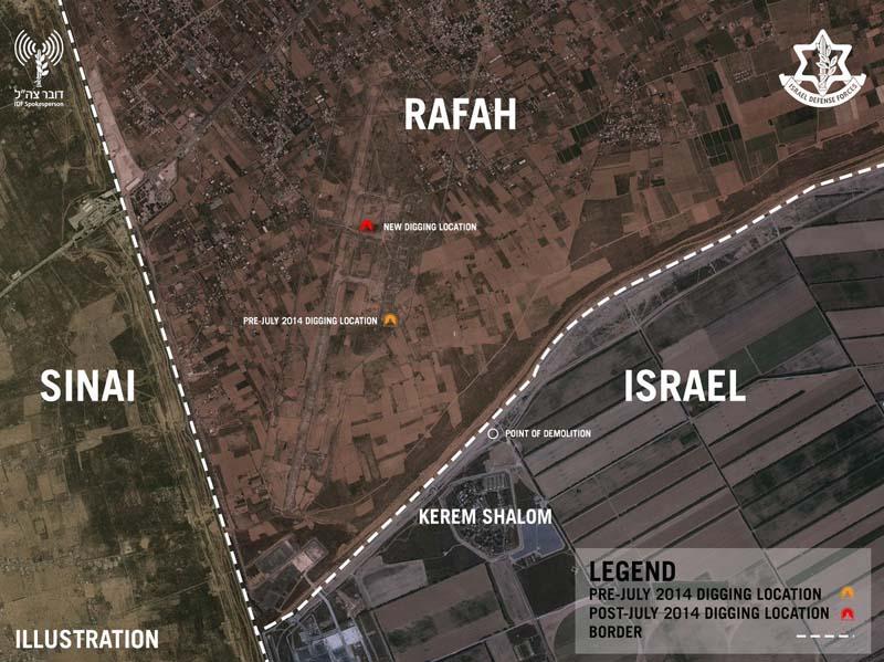 IDF Demolishes Terror Tunnel near Israel and Underground Complex in Gaza Strip