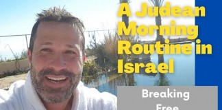 A Judean Morning Routine in Israel - Jeremy Gimpel: The Land of Israel Fellowship