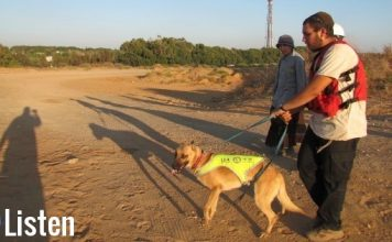 Israel Uncensored: Anti-Terror Dogs Saving Israeli Lives